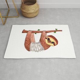 Slinky Sloth Rug
