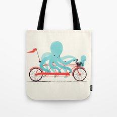 My Red Bike Tote Bag