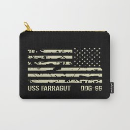 USS Farragut Carry-All Pouch