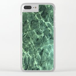 Natural Springs Clear iPhone Case