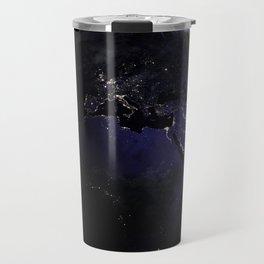 The Earth at Night 1 Travel Mug
