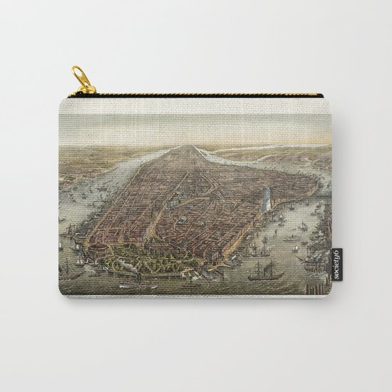 New York 1870 Carry-All Pouch