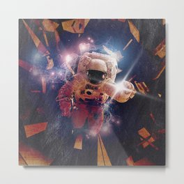 Astro Nova, capsule breach Metal Print