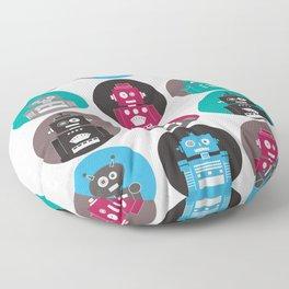 Robots Floor Pillow