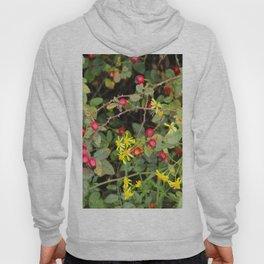 Flower and Berries Hoody