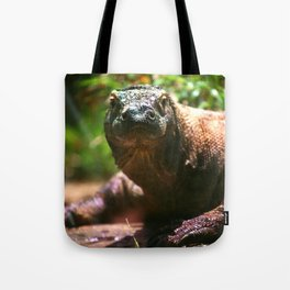 Curious Komodo Tote Bag