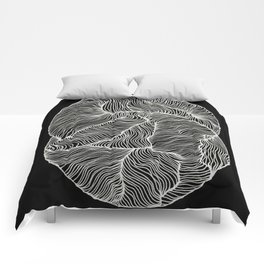 Inverted Infinity Comforters