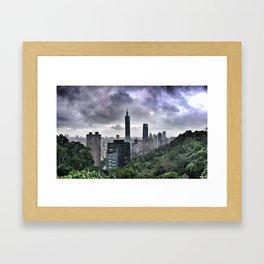 Taipei 101 Framed Art Print