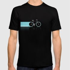 Light Bicycles Mens Fitted Tee Black MEDIUM