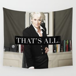 That's All. Wall Tapestry