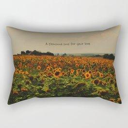 For your love Rectangular Pillow