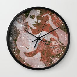 Heavy Crown: Red Wall Clock