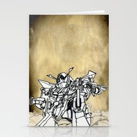 transformer Stationery Cards featuring Transformer by Dave Houldershaw