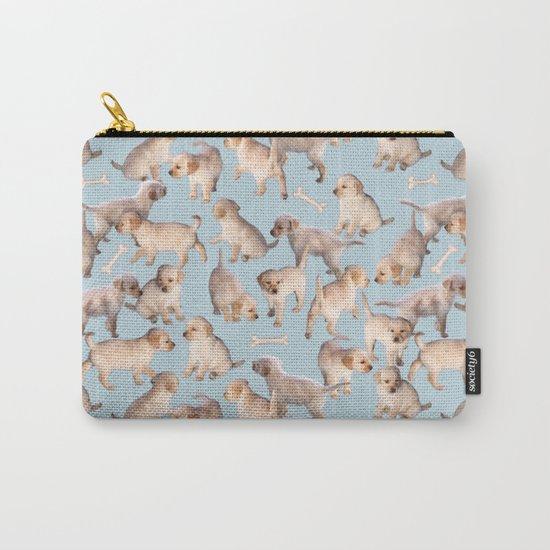 Too Many Puppies Carry-All Pouch