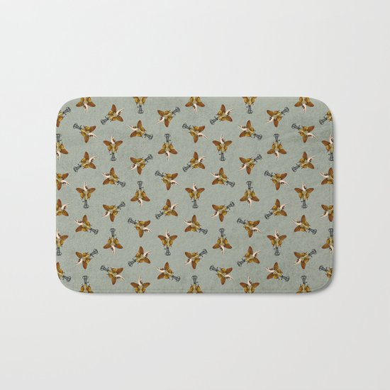 Butterhand Portrait Bath Mat