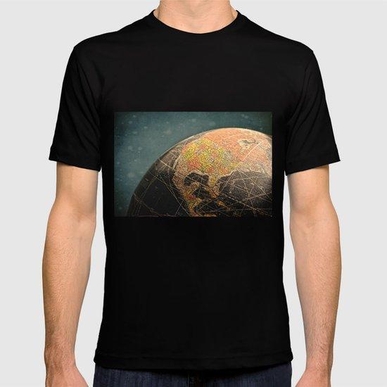 Where I Am (Vintage Globe) T-shirt