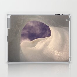 Hole in the ice Laptop & iPad Skin
