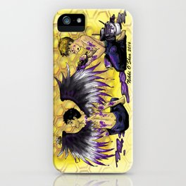 Ace Wings and Honeycombs iPhone Case