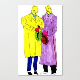 dudes Canvas Print