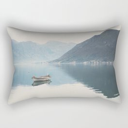 boat reflections ... Rectangular Pillow