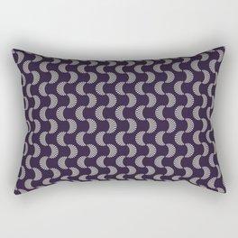 Colored Fifties Pattern 08 Rectangular Pillow