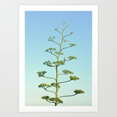 One false Leaf Art Print