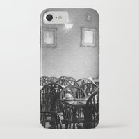 cafe iPhone & iPod Cases featuring Cafe by J. Ann Photography