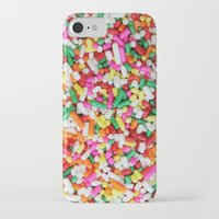 sprinkles iPhone & iPod Cases featuring Sprinkles by Beastie Toyz