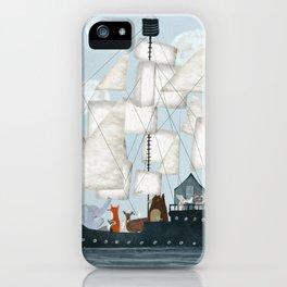 a nautical adventure iPhone Case