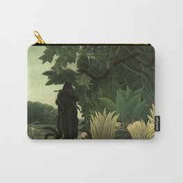 """Henri Rousseau """"The Snake Charmer"""", 1907 Carry-All Pouch"""