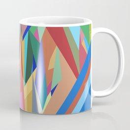 Colorful Triangle Pattern Coffee Mug