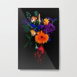 Colorful Floral Bouquet Metal Print