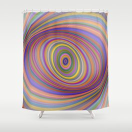 Happy Hypnosis Shower Curtain