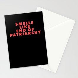 Feminism Matriarchy Radical Feminist Badgirl Stationery Cards