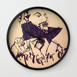 Whats Goin' On Wall Clock