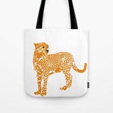 Mighty Cheetah  Tote Bag