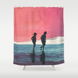 Until Dusk Shower Curtain