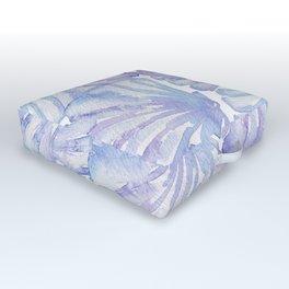 Shell Ya Later - Purple Seashell Pattern Outdoor Floor Cushion