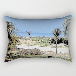 Marco Island, Florida South Seas Balcony View of Ocean Rectangular Pillow