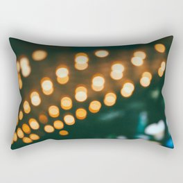 Los Angeles Carnival Bokeh Rectangular Pillow