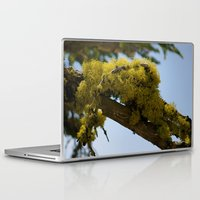 moss Laptop & iPad Skins featuring Moss by Emily Werboff