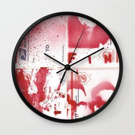 FIM - KISSINGER GONE POSTAL Wall Clock