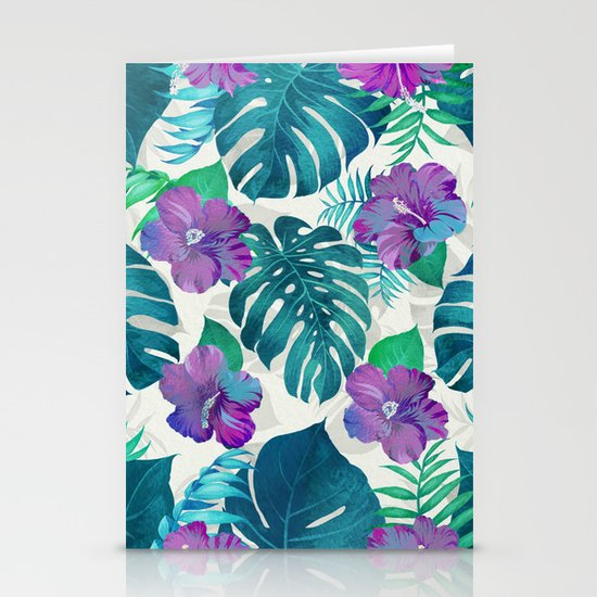 My Tropical Garden 20 Stationery Cards