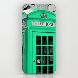 Reed Booths Turned Seafoam iPhone Skin