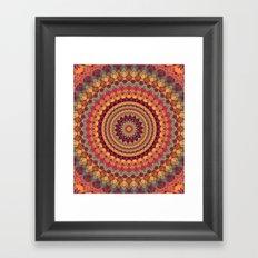Mandala 565 Framed Art Print