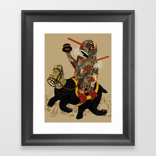 Hooray Framed Art Print
