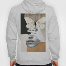 collage art / butterfly 2 Hoody