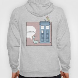 Don't Let the Pigeon Drive the Tardis Hoody