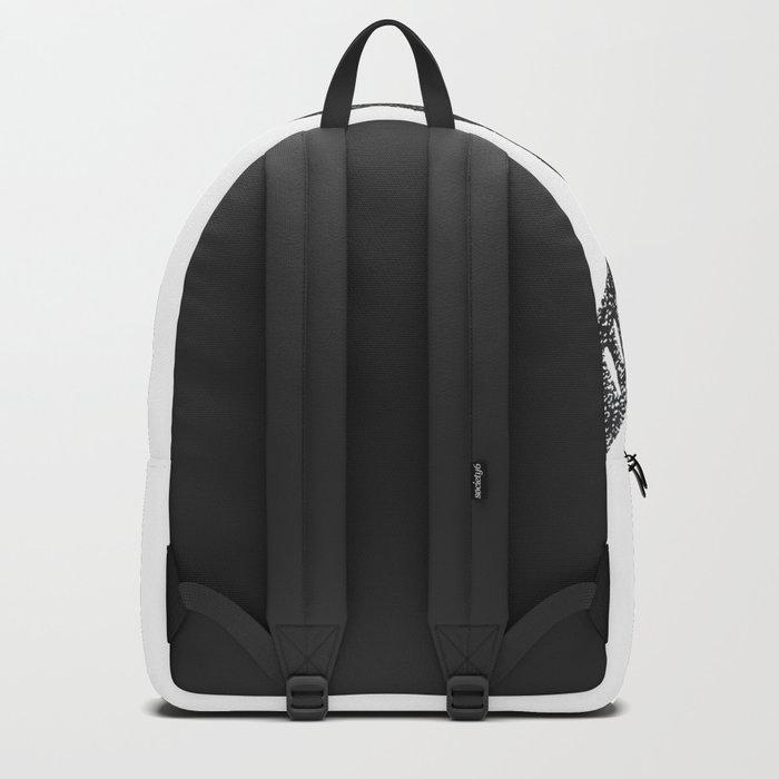 Stamped Skull Backpack