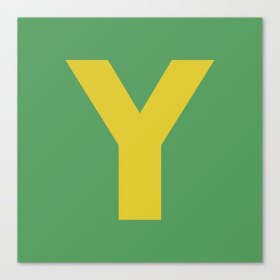 Y is for... Canvas Print